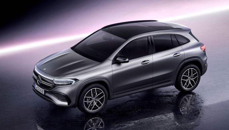 title image of New electric crossover Mercedes EQA 250 – surprising range, poor acceleration