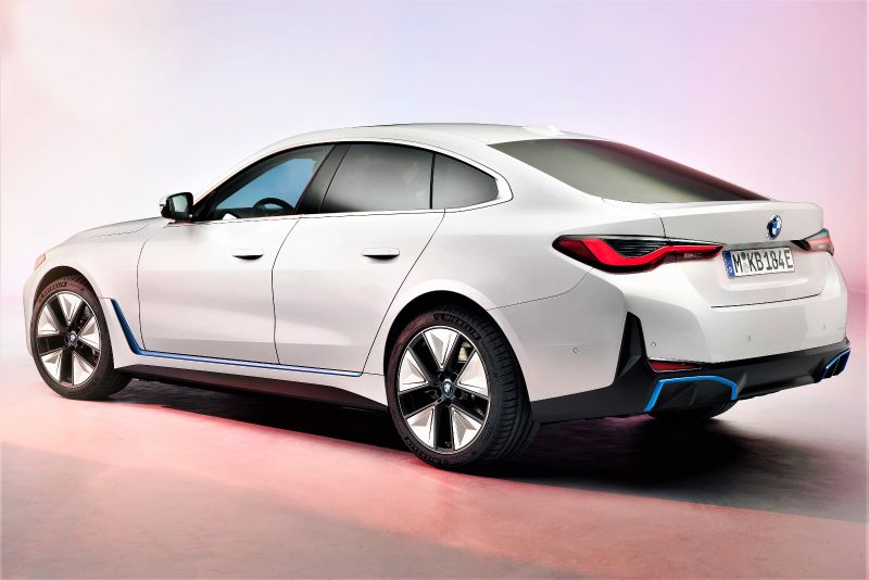 title image of BMW i4 - first pictures and technical specifications