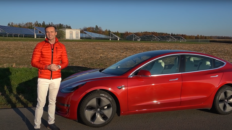 title image of The first year with Tesla Model 3 Long Range